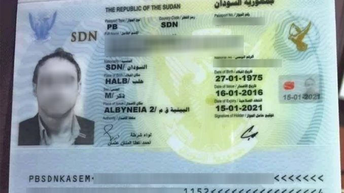 Passports for Sale: How Sudan Profits From Syrians - Psychotec